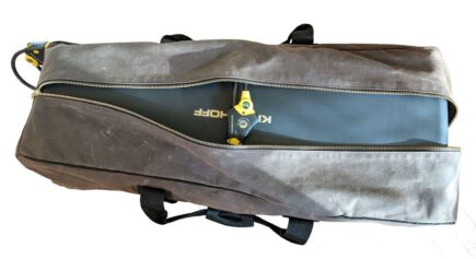 Crushable Field Vault by Stack Arms pecan with Krieghoff Case