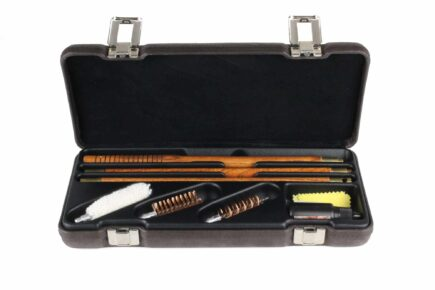 Negrini Luxury Shotgun Wood Rod Cleaning Kit - 5024FPL/5932 interior
