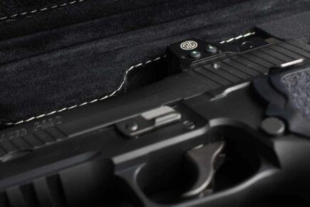SIG SAUER® Super Deluxe Handgun Cases - 2018SLXCS/5995 - ROMEO1 Reflex Sight compatible