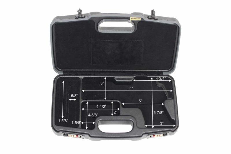 SIG SAUER® Handgun Cases - 2018LXX/5996-SIG - Interior Dimensions