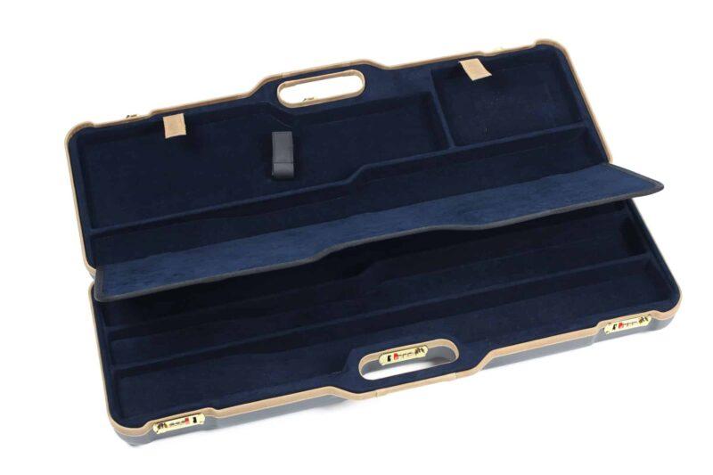 Negrini 1674LX 1 Gun 4 Barrel Hunting Case interior top