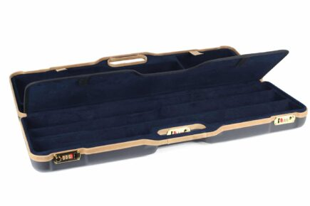 Negrini 1674LX 1 Gun 4 Barrel Hunting Case interior divider