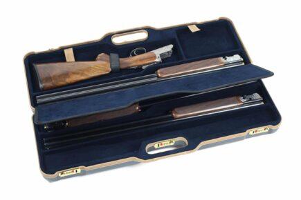 Negrini 1674LX 1 Gun 4 Barrel Hunting Case interior shotguns