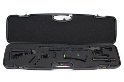 Negrini 1607R-TAC/4880 AR-15 Tactical Rifle Case - takedown AR-15