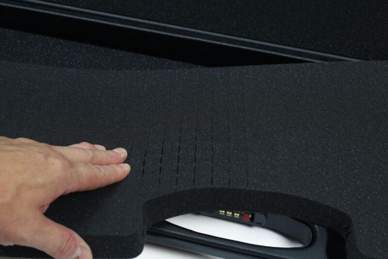 Negrini 1607R-TAC/4880 AR-15 Tactical Rifle Case - die cut foam