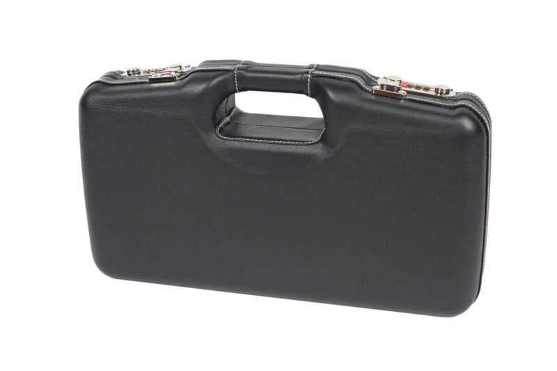 Negrini Model 1911 Luxury Leather Handgun Case - 2018SPLX/6034 - exterior