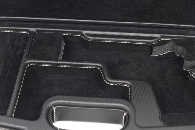 Negrini Model 1911 Luxury Leather Handgun Case - 2018SPLX/6034 - Interior Closeup