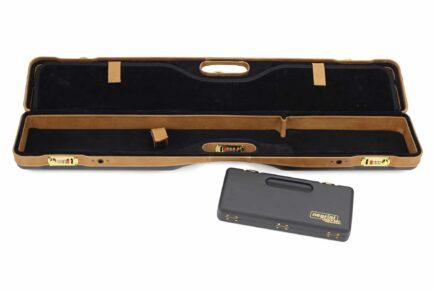 Negrini PLX Leather OU/SXS/Auto/Pump UNICASE Travel Shotgun Case - 16406PLX-UNI/5903 removable abs box