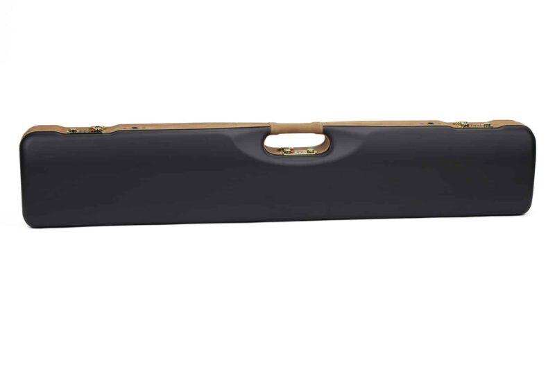 Negrini PLX Leather OU/SXS/Auto/Pump UNICASE Travel Shotgun Case - 16406PLX-UNI/5903 back
