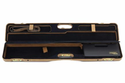 Negrini PLX Leather OU/SXS/Auto/Pump UNICASE Travel Shotgun Case - 16406PLX-UNI/5903 interior top