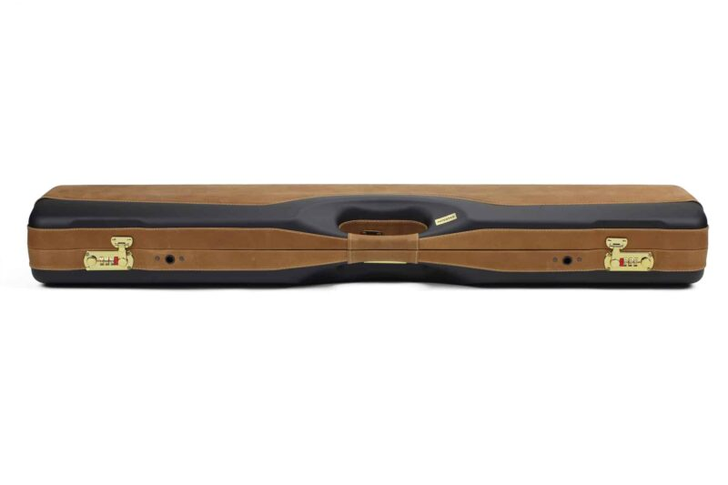 Negrini PLX Leather OU/SXS/Auto/Pump UNICASE Travel Shotgun Case - 16406PLX-UNI/5903 profile