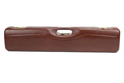 Negrini OU/SxS Italian Leather Compact Sporter Shotgun Case - 16407PL exterior