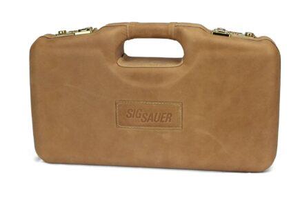 SIG SAUER® Brown Executive Handgun Cases - 2018SPL/6109 - exterior
