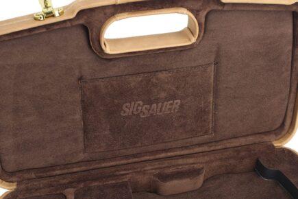 SIG SAUER® Brown Executive Handgun Cases - 2018SPL/6109 - pocket
