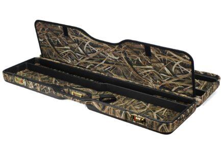 Duck Ruckus Two Gun Semi-Auto or Pump Shotgun Travel Case - interior divider